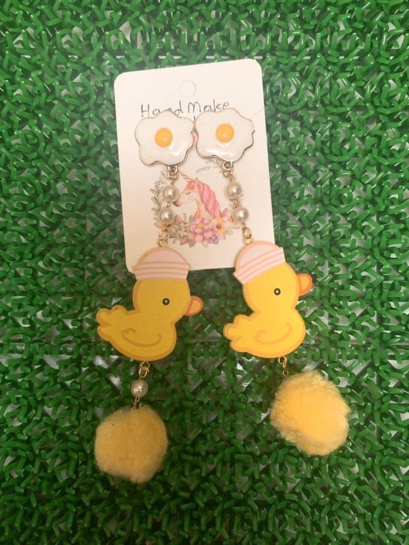 earrings lovely Duck