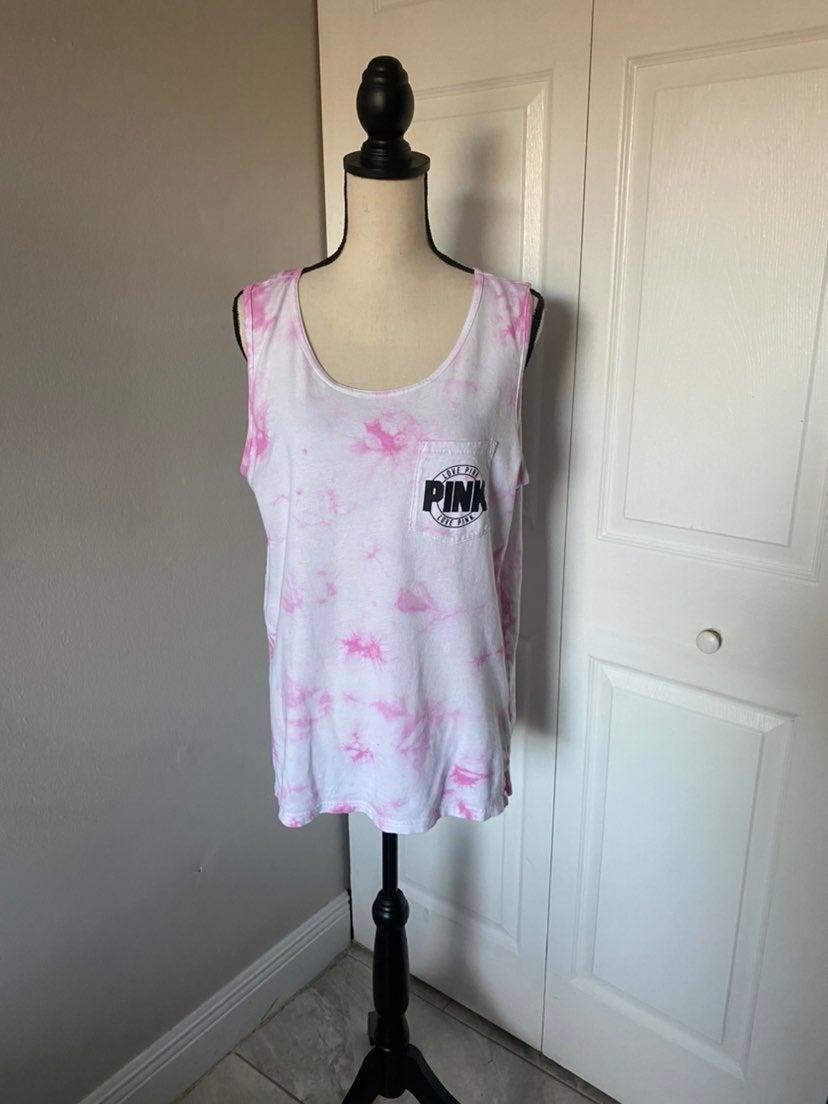 VS PINK Tie Dye Women's Tank Top