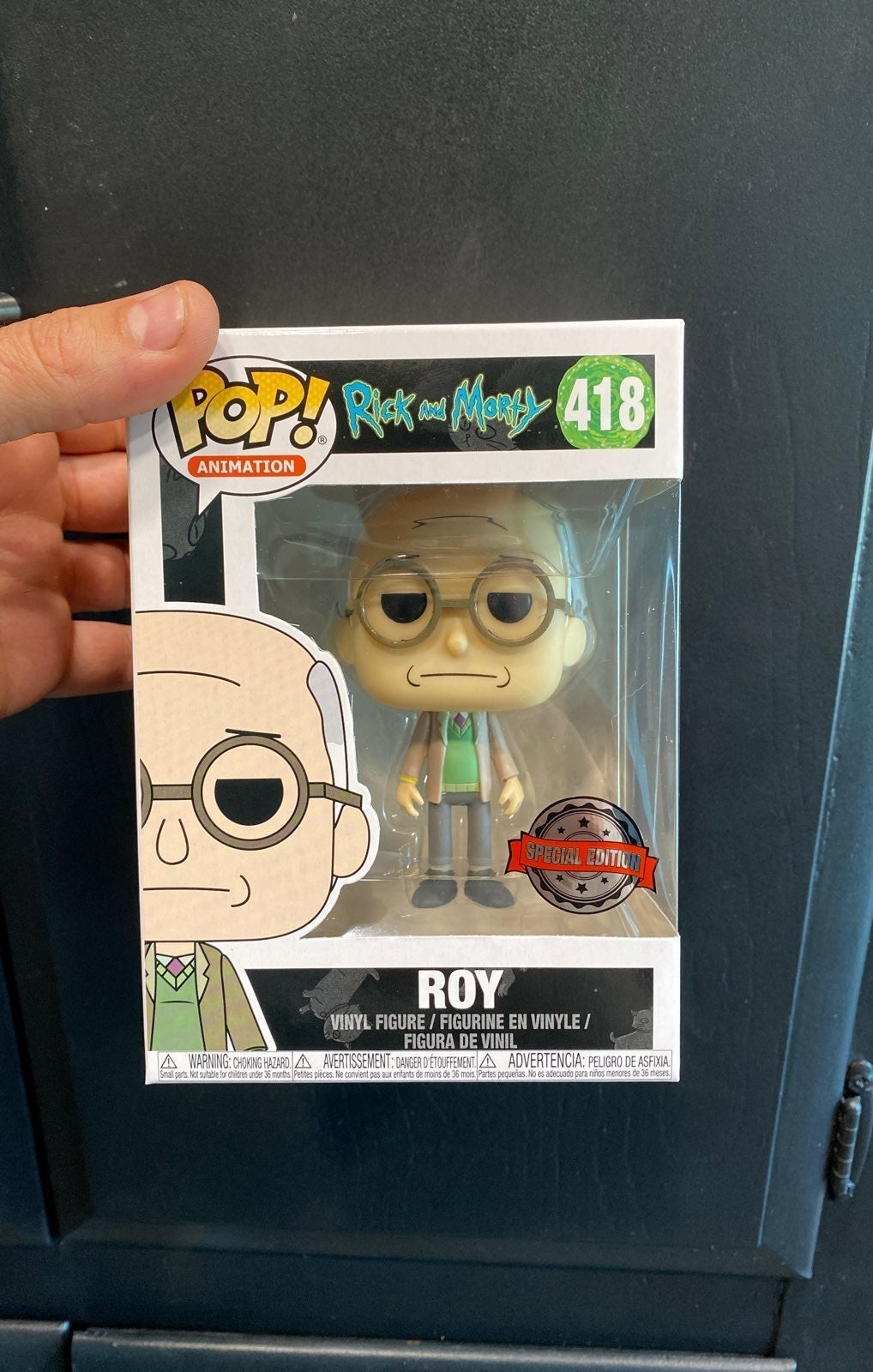 Special Edition Rick and Morty Roy Funko
