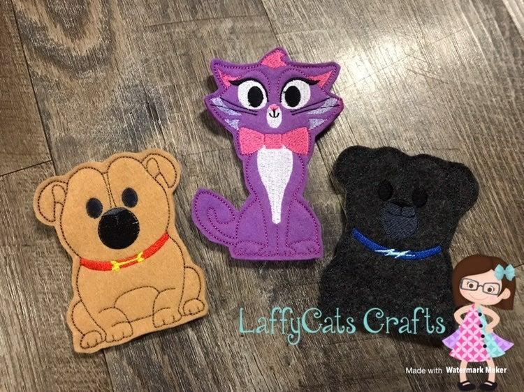 Handmade Puppy Dog Pals Finger Puppets