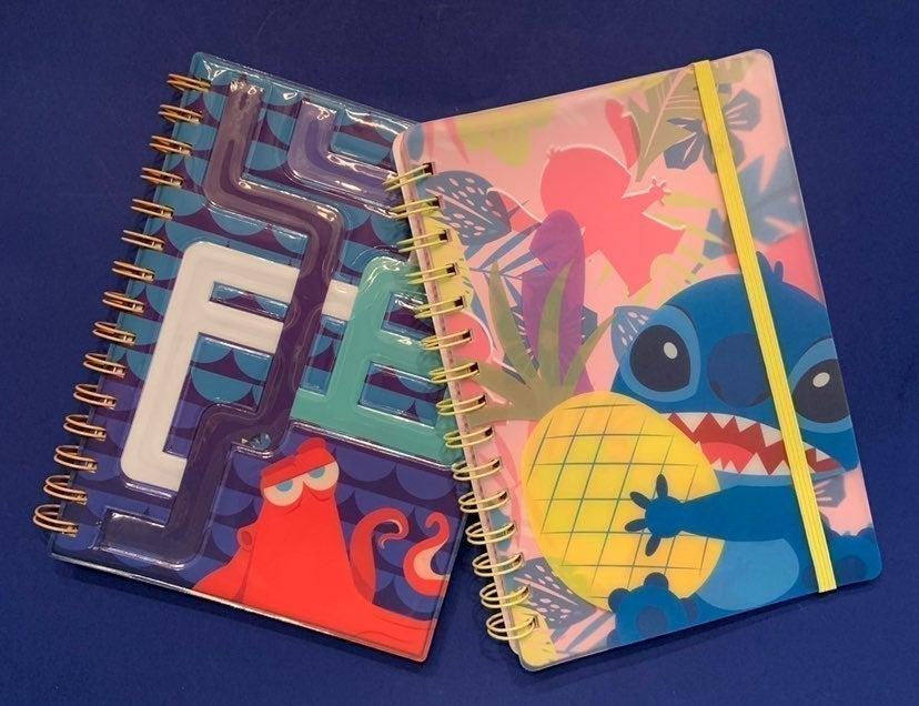 Disney Spiral Notebooks Stitch & Dory