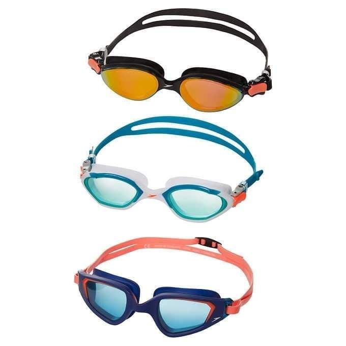 Speedo Kids Goggles, 3-pack