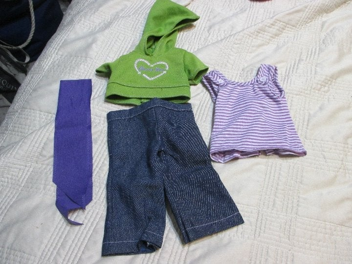 American Girl Doll Clothes Hoodie,Pants