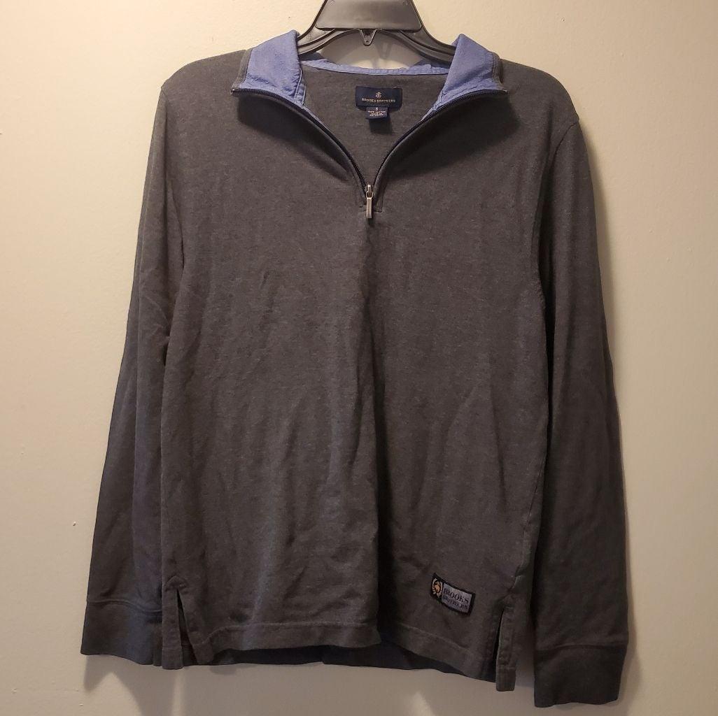 Men's Brooks Brothers 3/4 Zip Up Sweater