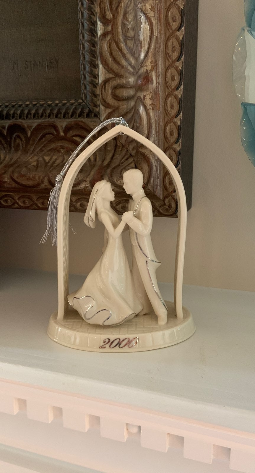 Lenox Wedding Couple 2000 Ornament