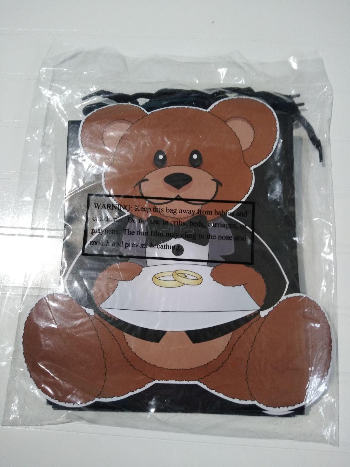 (6) Ring Bearer Gift Bags Brand New
