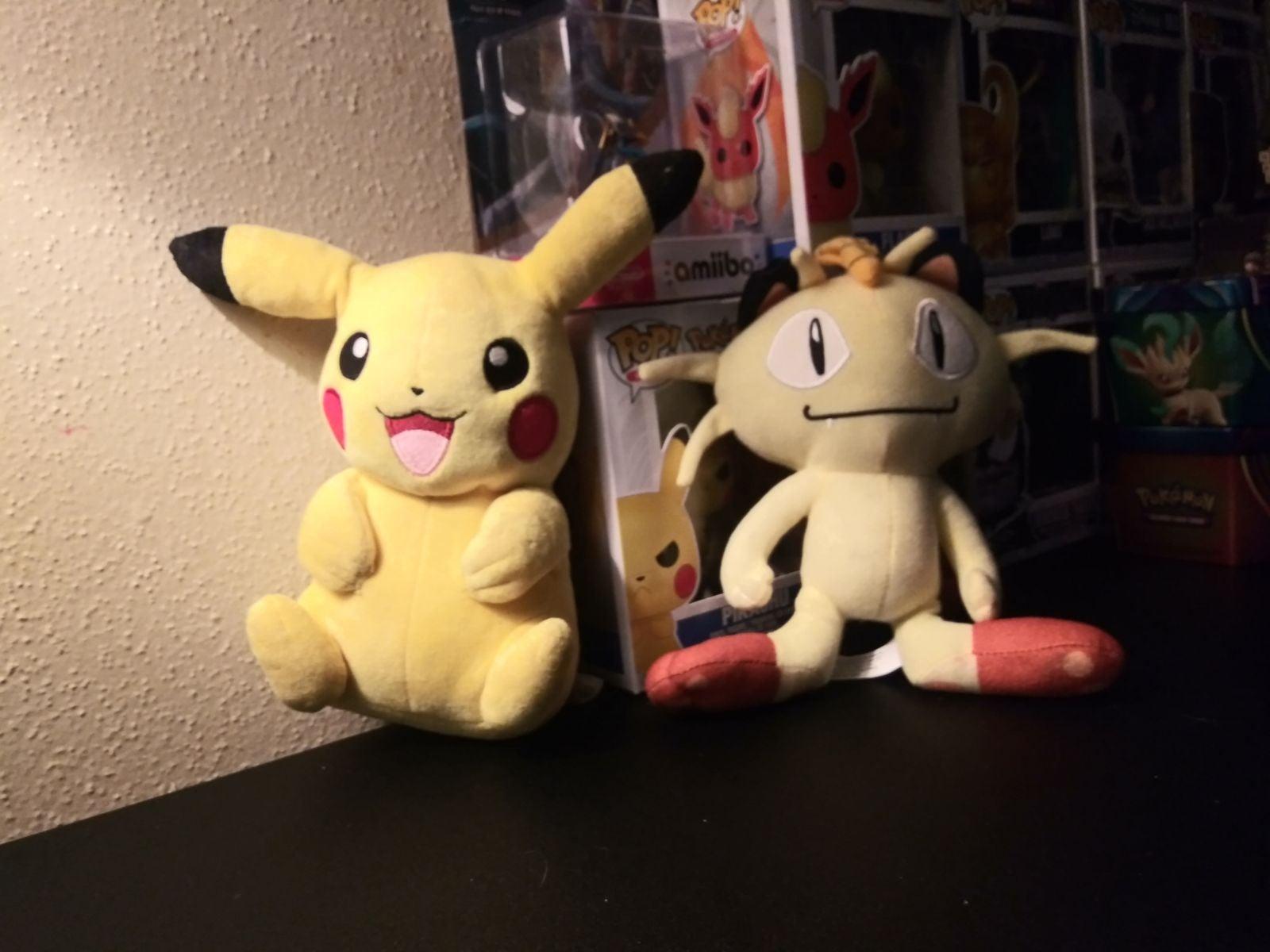Pokèmon: Pikachu + Meowth Plush