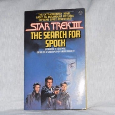 Star Trek Movie paperback book