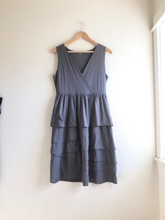 Garnet hill midi sleeveless dress S