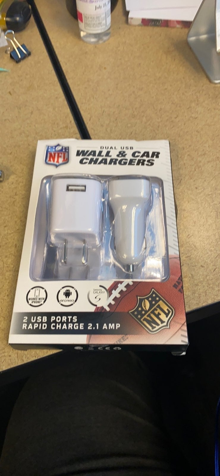 Wall and car chargers