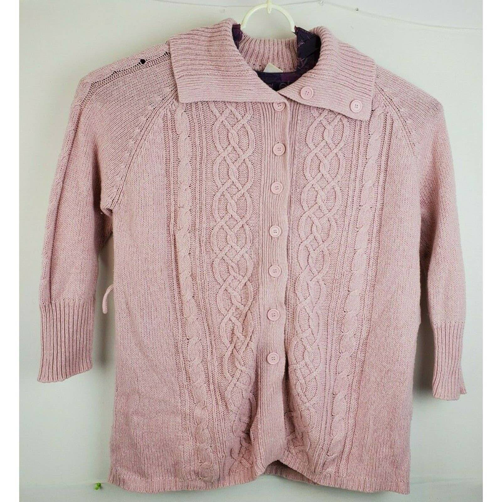 faded glory womens sweater size xl