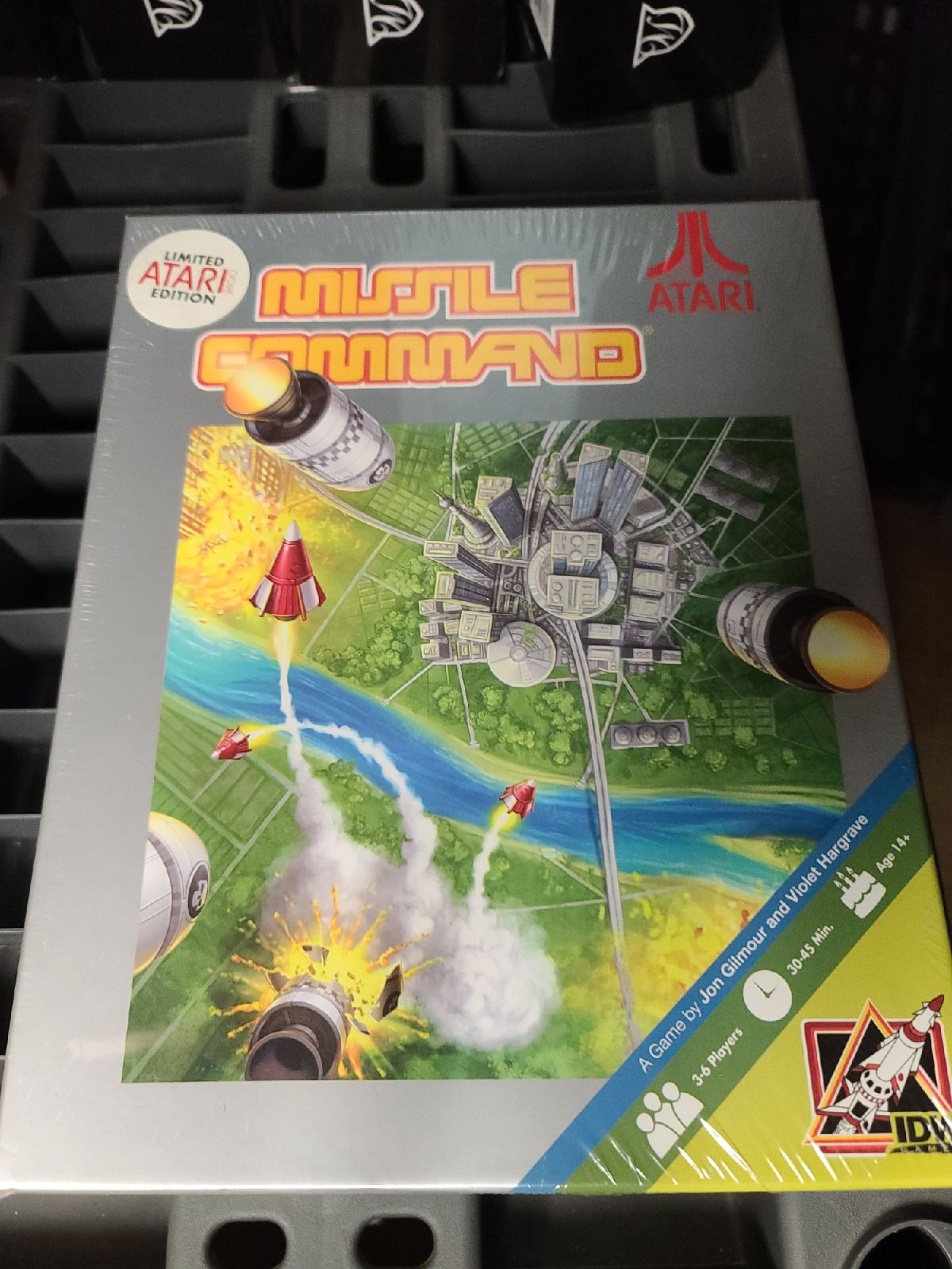 Missile Command Board Game Vintage Atari