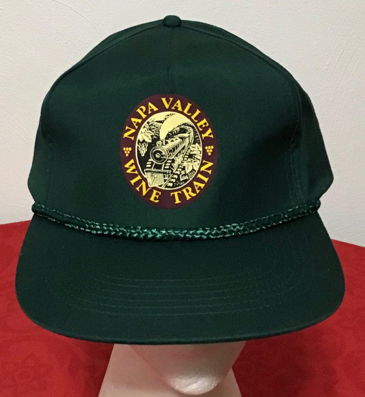 Napa Valley Wine Train Snapback Hat Cap