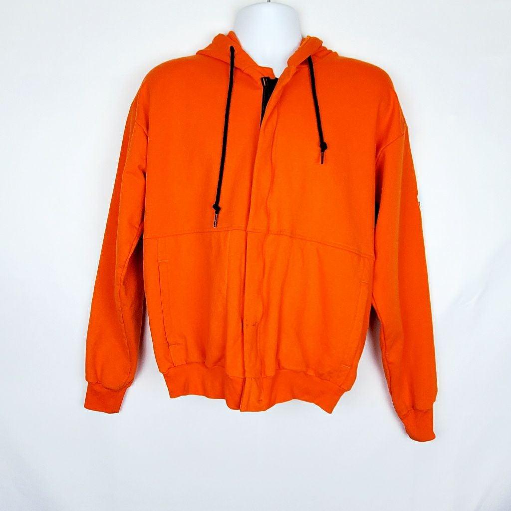 Bulwark FR Work Wear Orange Hoodie M