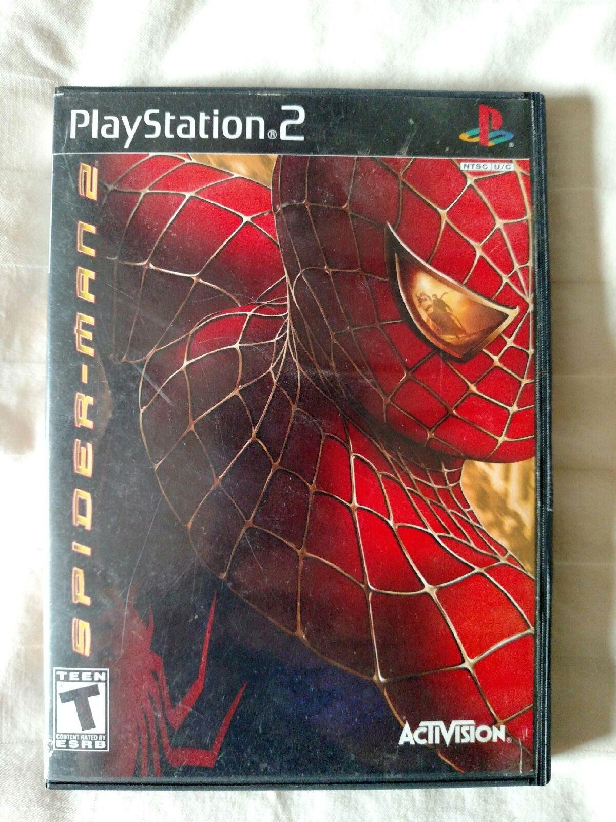 ps2 game SPRIDER-MAN2