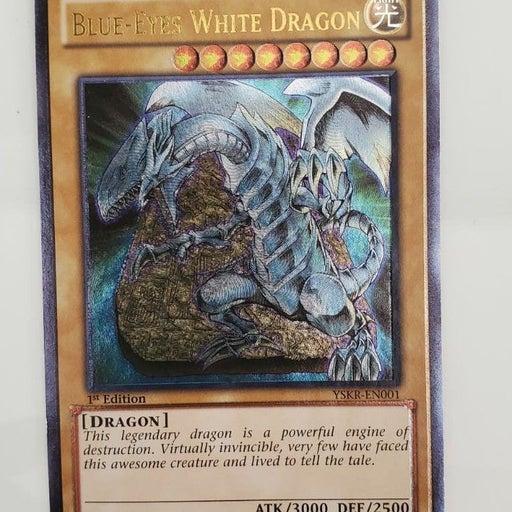 blue eyes white dragon trading card