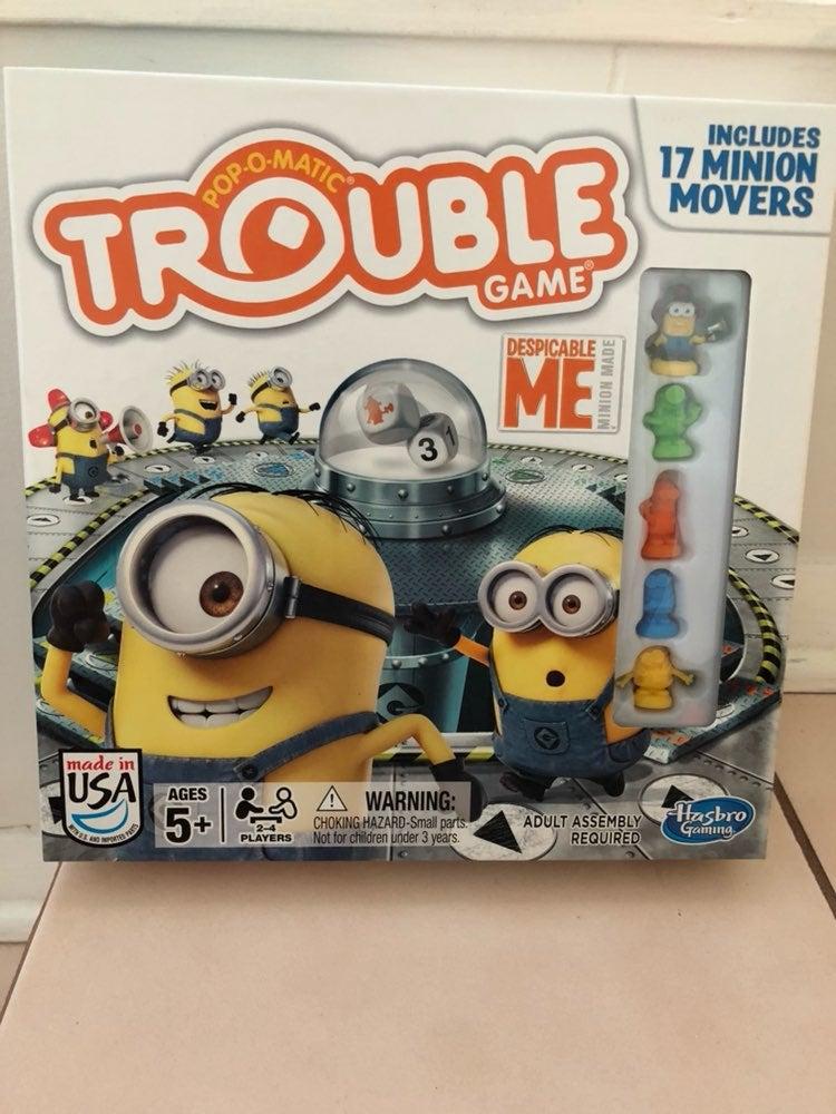 Monopoly & Trouble - Minions Bundle