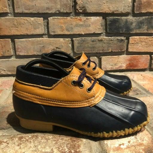 Eddie Bauer Womens Duck Rain Boots Sz 8