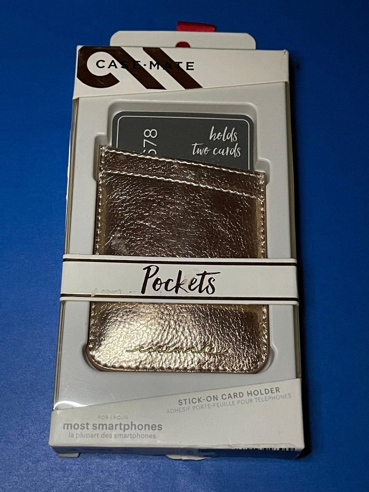 CaseMate Pockets - Card Holder/Wallet