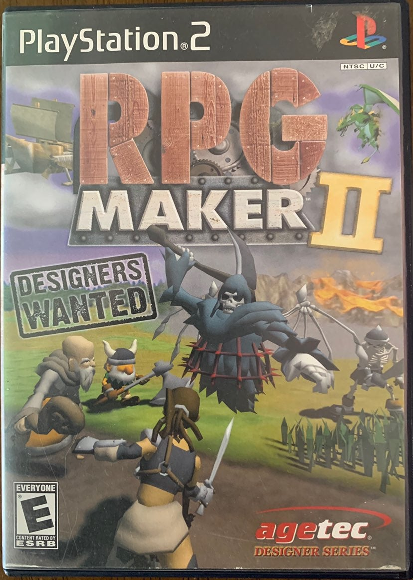 RPG Maker II PS2