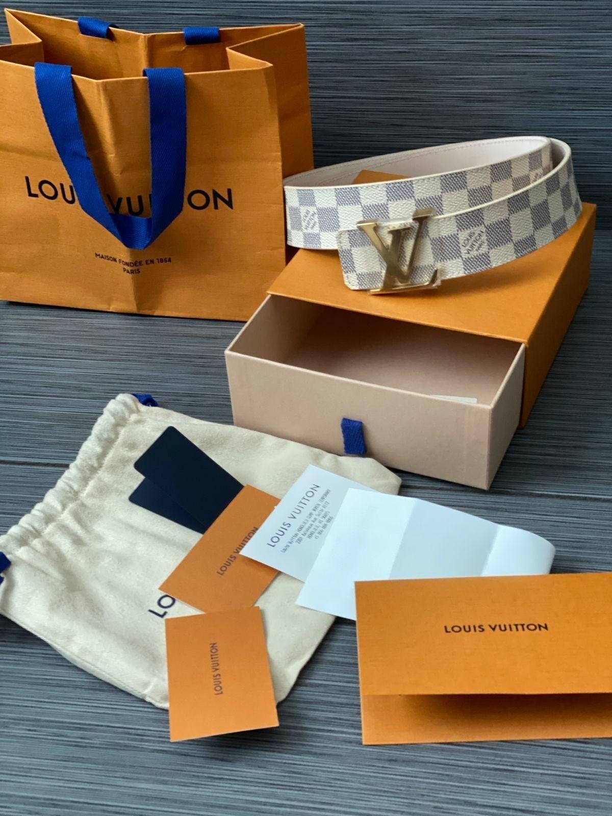 Louis Vuitton nwt authentic unisex belt