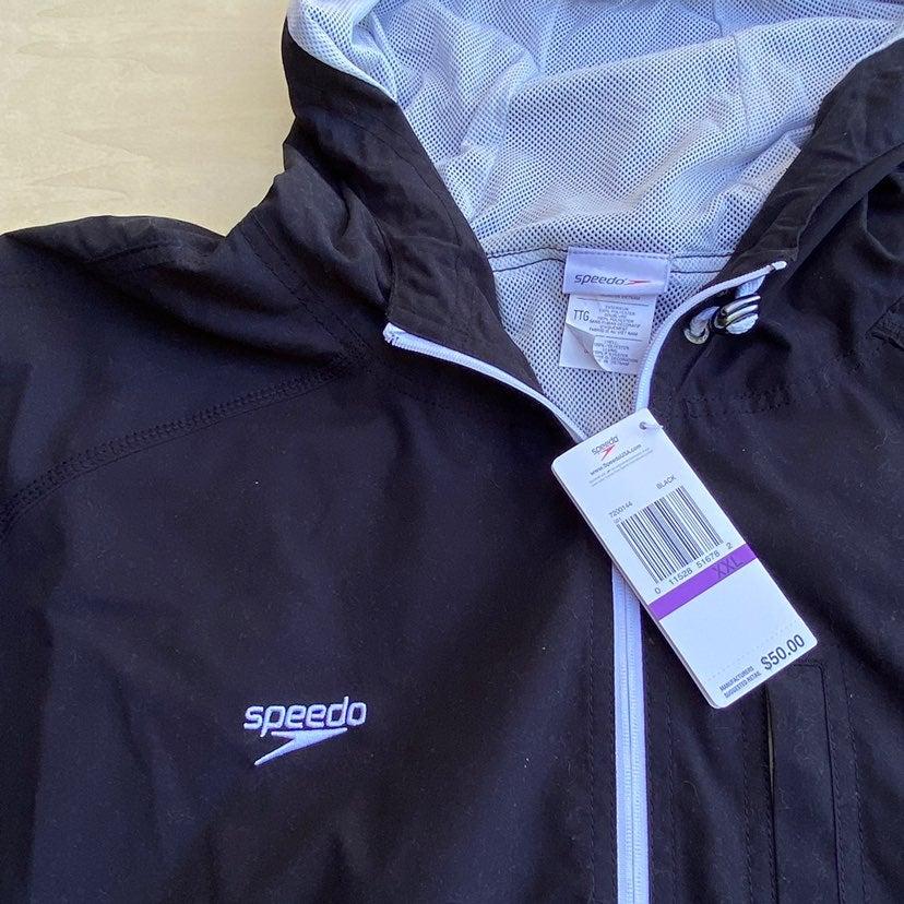 NEW Speedo Zip Up Jacket Men's XXL