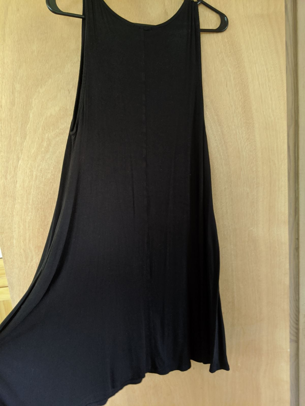 Black Hourglass Lily sleeveless dress