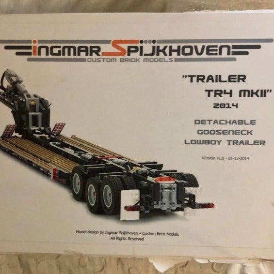 Ingmar Spijkhoven TR4 MKII LE Lego Set
