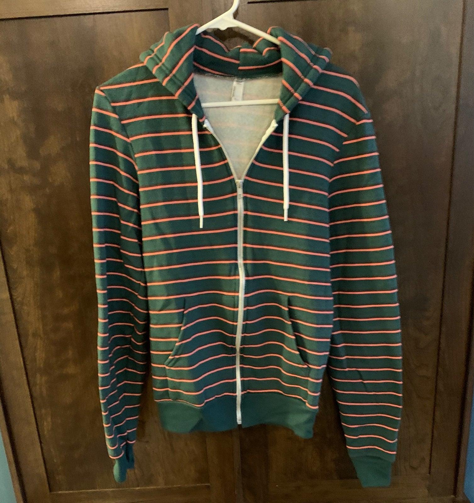 American Apparel zip up hoodie