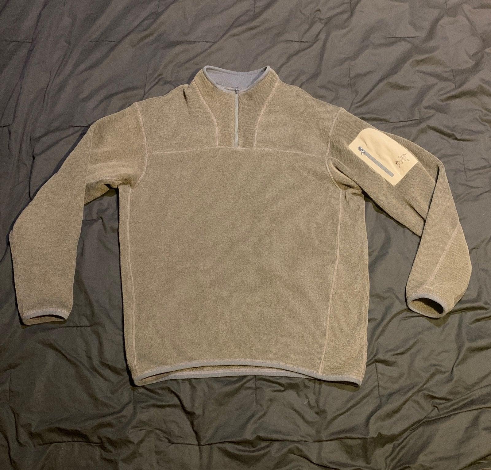 Mens Arc'teryx 1/4-Zip Fleece (Size: L)