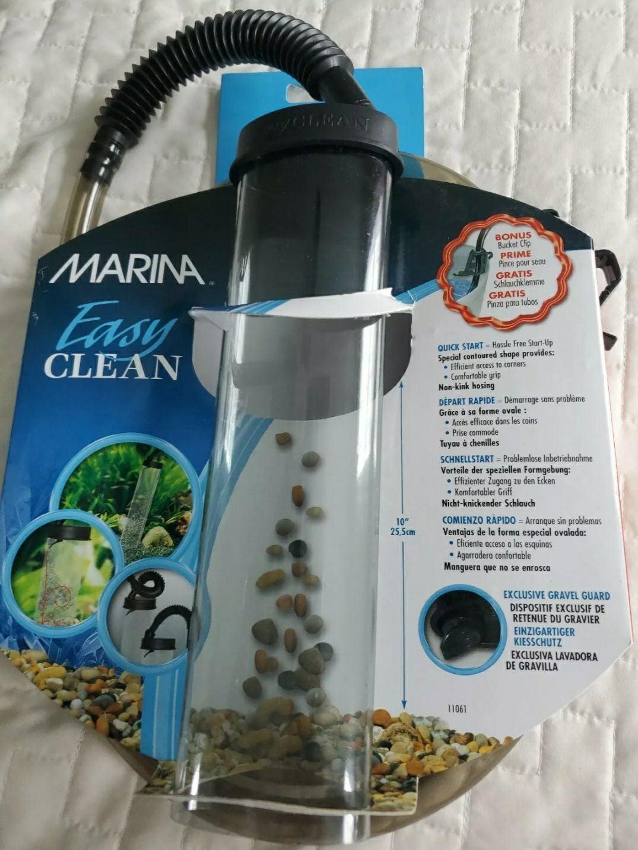 Gravel cleaner vacuum