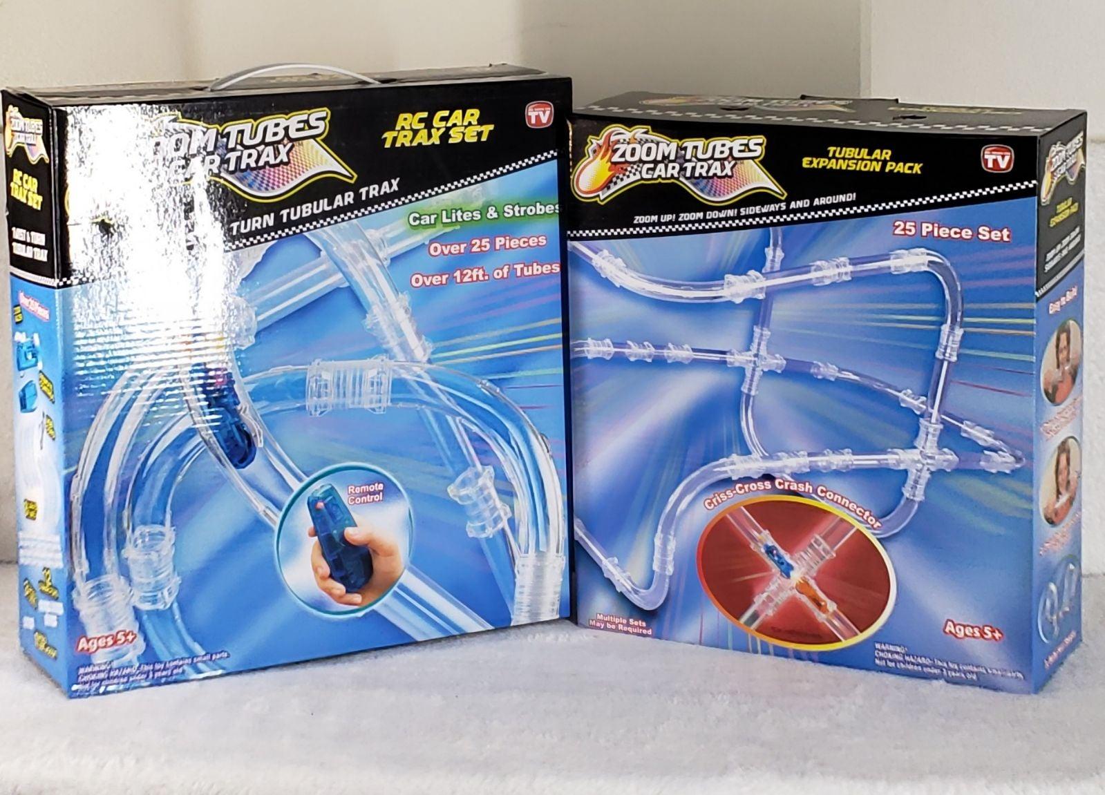 Zoom Tubes Car RC Trax Set