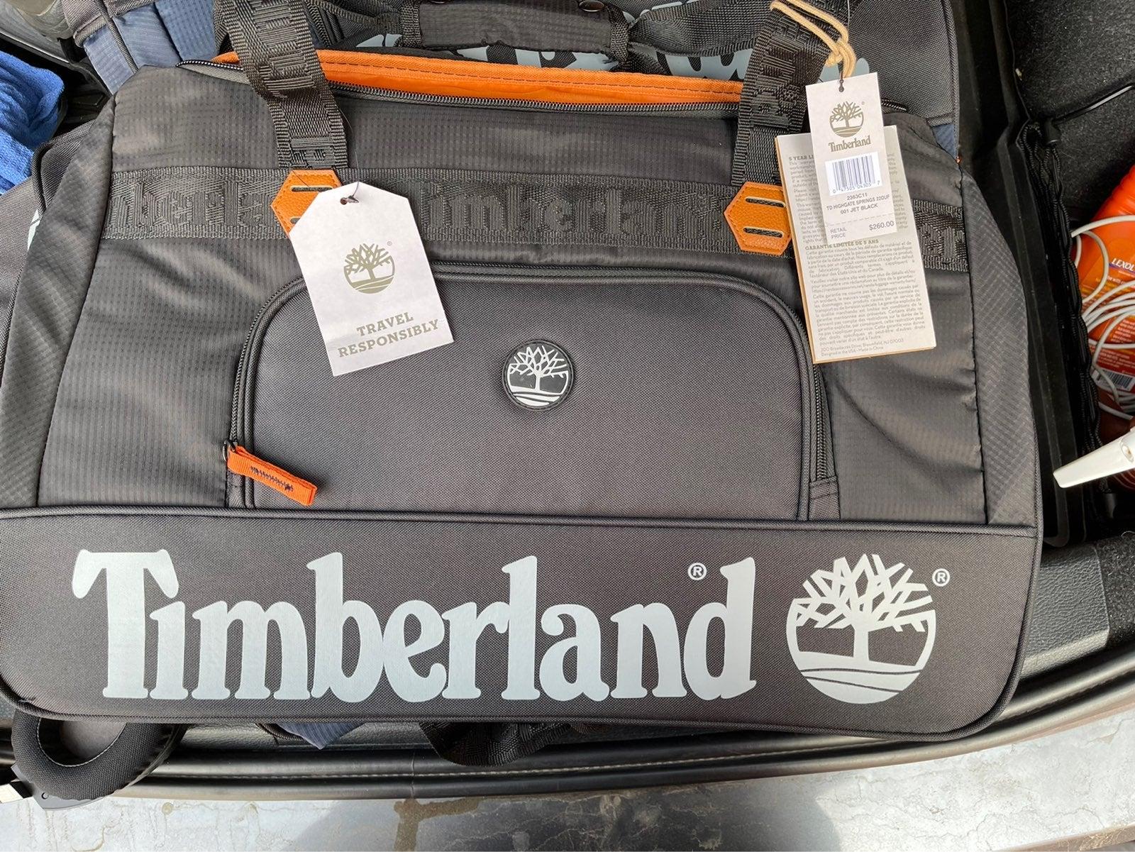TIMBERLAND DUFFLE TRAVEL BAG