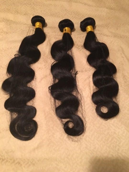 Brazilian Virgin Hair Bundles 24 22 20