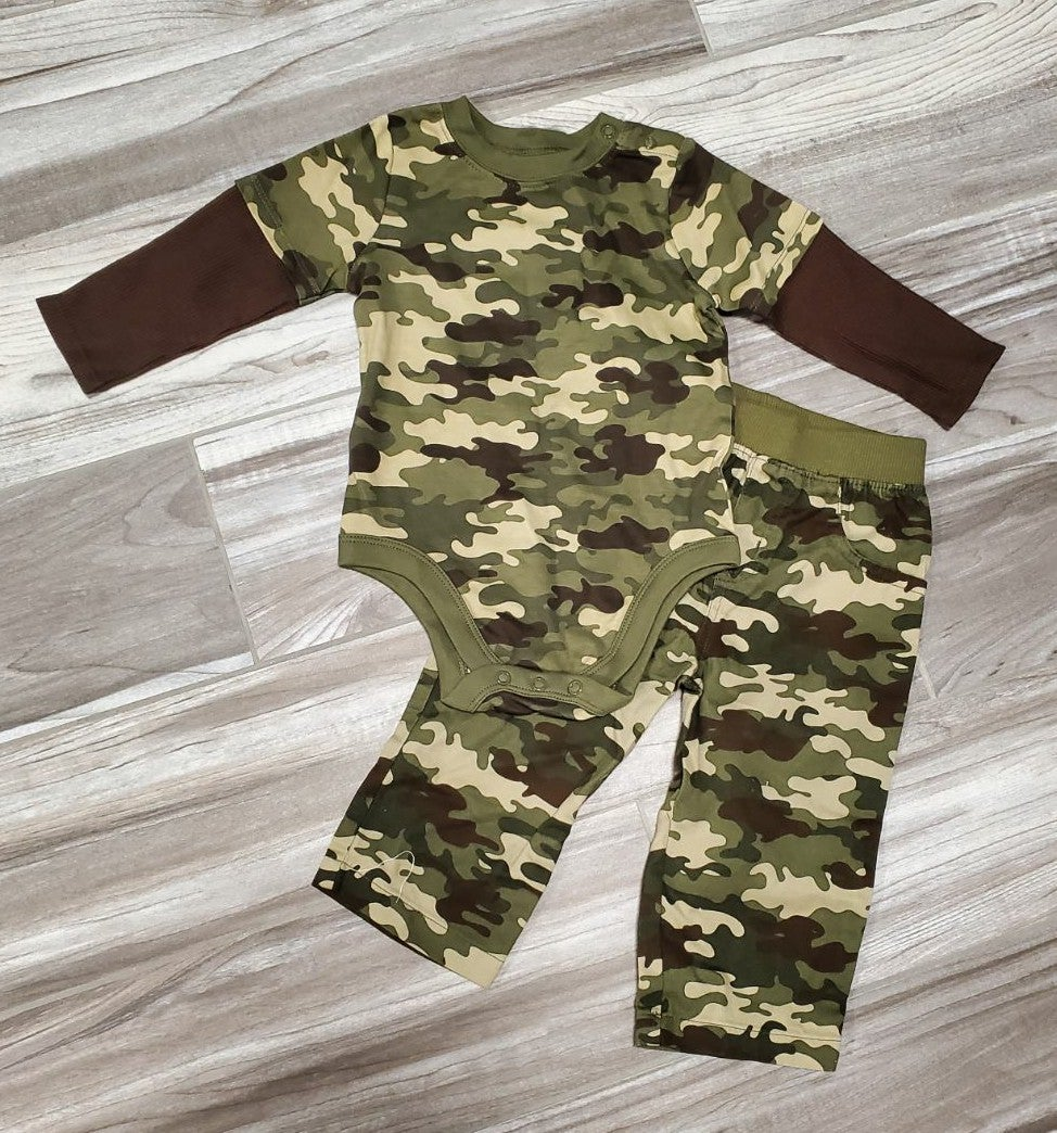 12 Month Camo Outfit