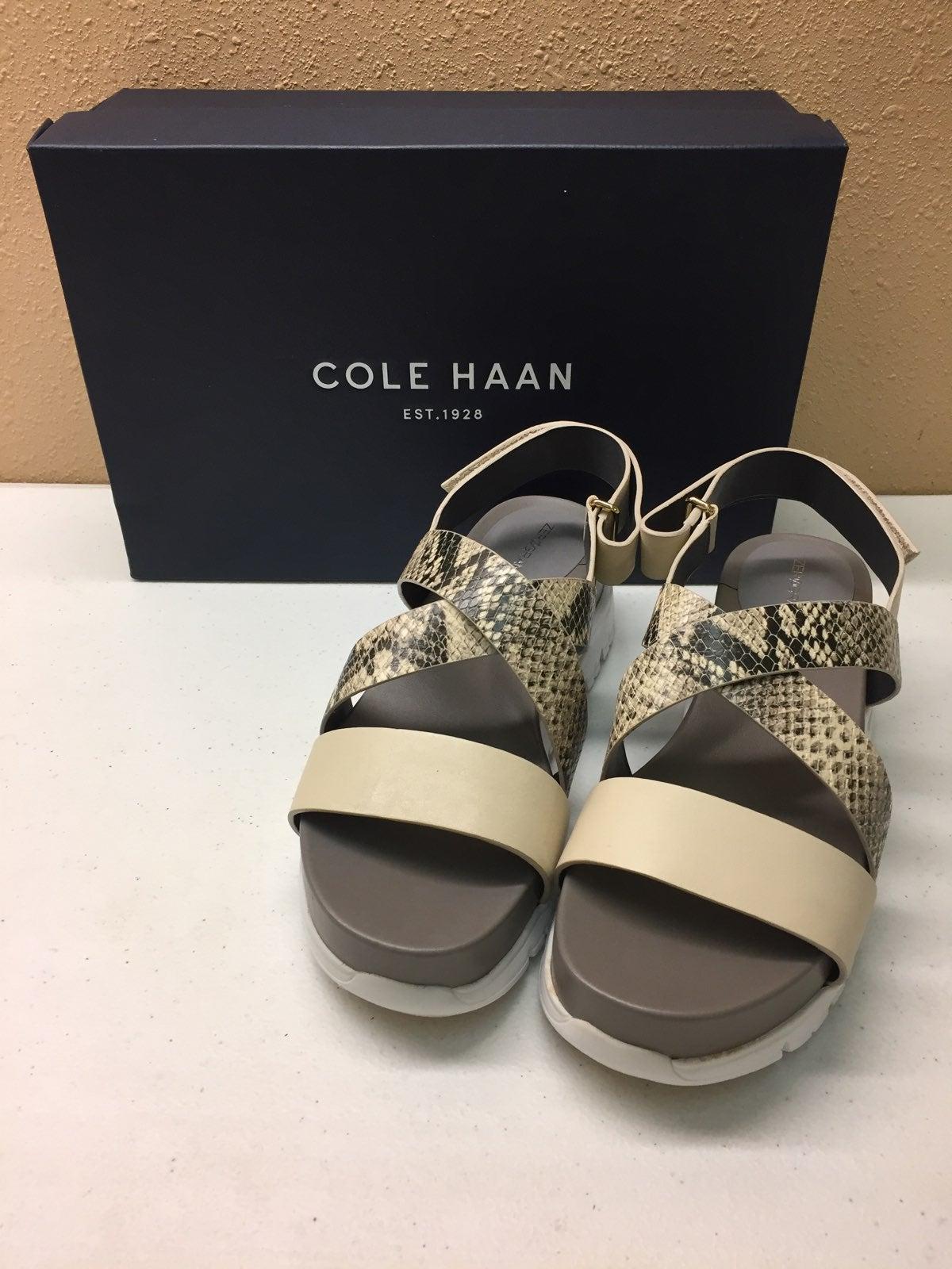 Cole Haan Multi Color Velcro Sandal 6M