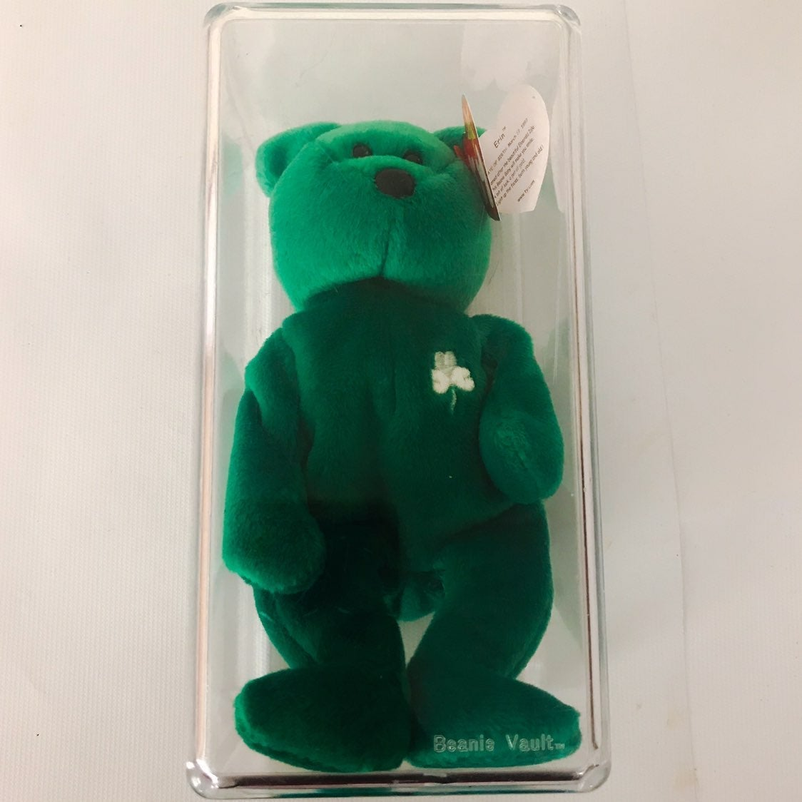 Ty Beanie Baby ERIN Bear Rare Retired