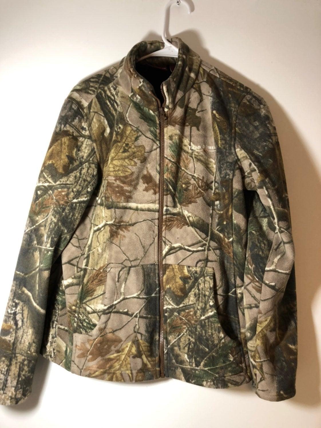 Field & Stream Camo Jacket Womens Medium