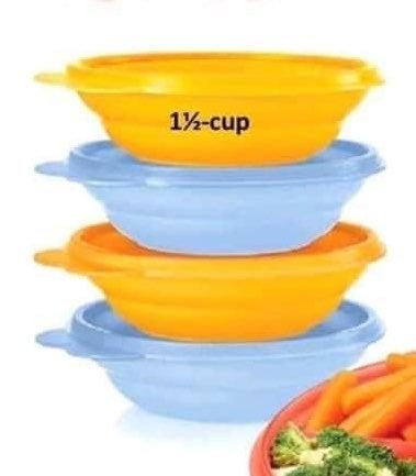 Tupperware mini bowls