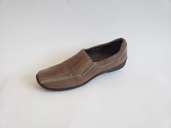 Meucci women comfort brown leather shoes