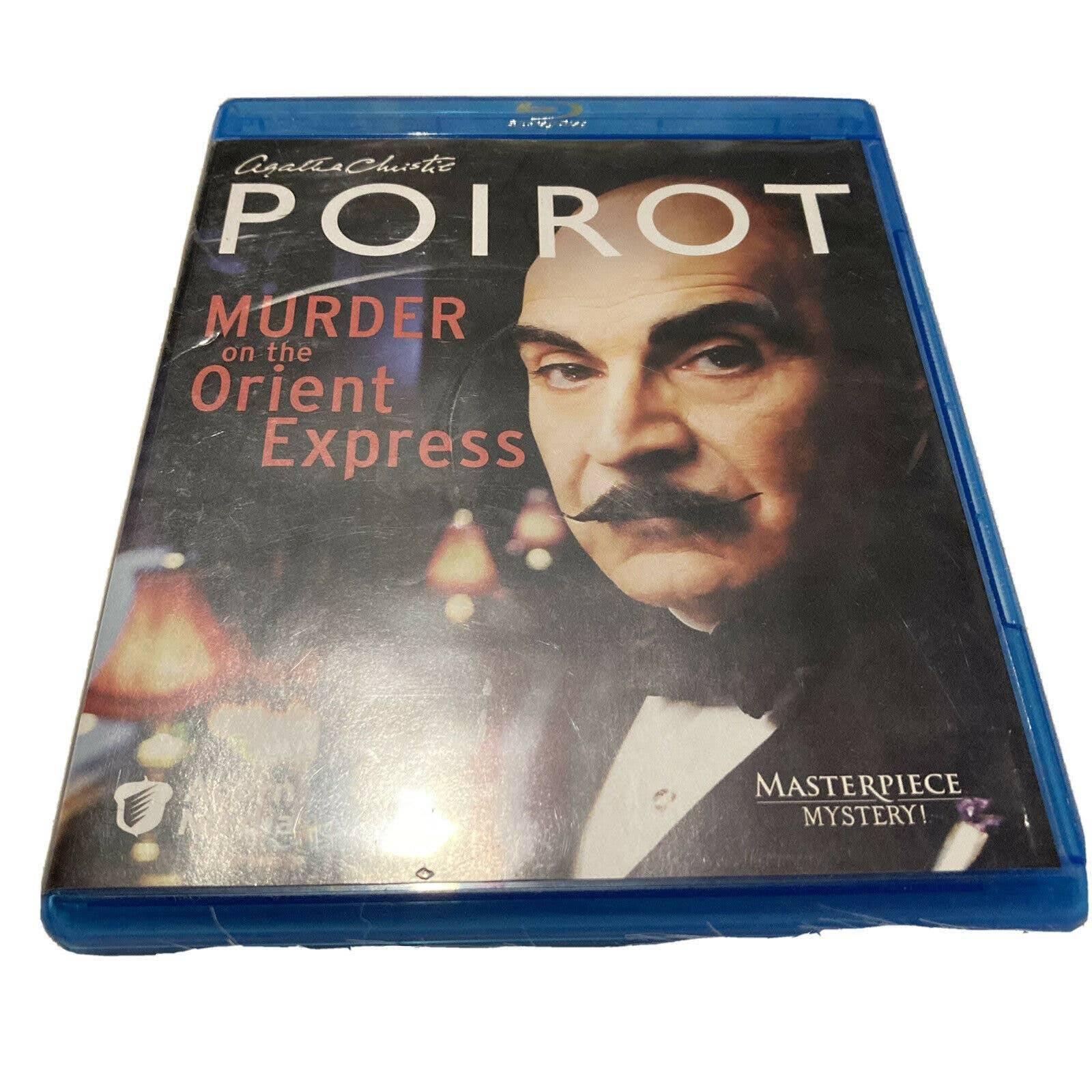 Agatha Christie's Poirot Blu Ray DVD