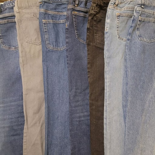 Boys jeans size 10 - 7 pairs