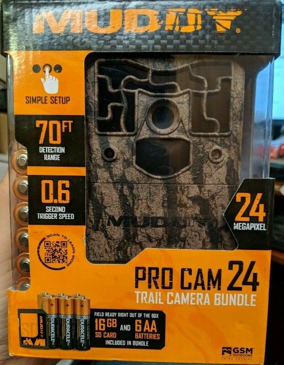 Muddy Pro Cam 24MP w/ Battery & SD Card - MUD-MTC800 -
