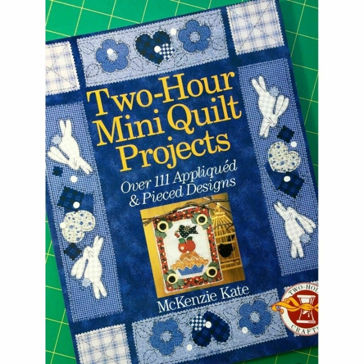 Two Hour Mini Quilt Projects by McKenzie Kate, 111 Projects Applique and Pieced