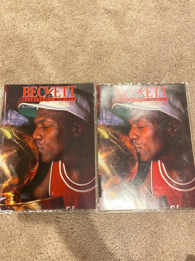 Beckett Basketball Monthly Jordan