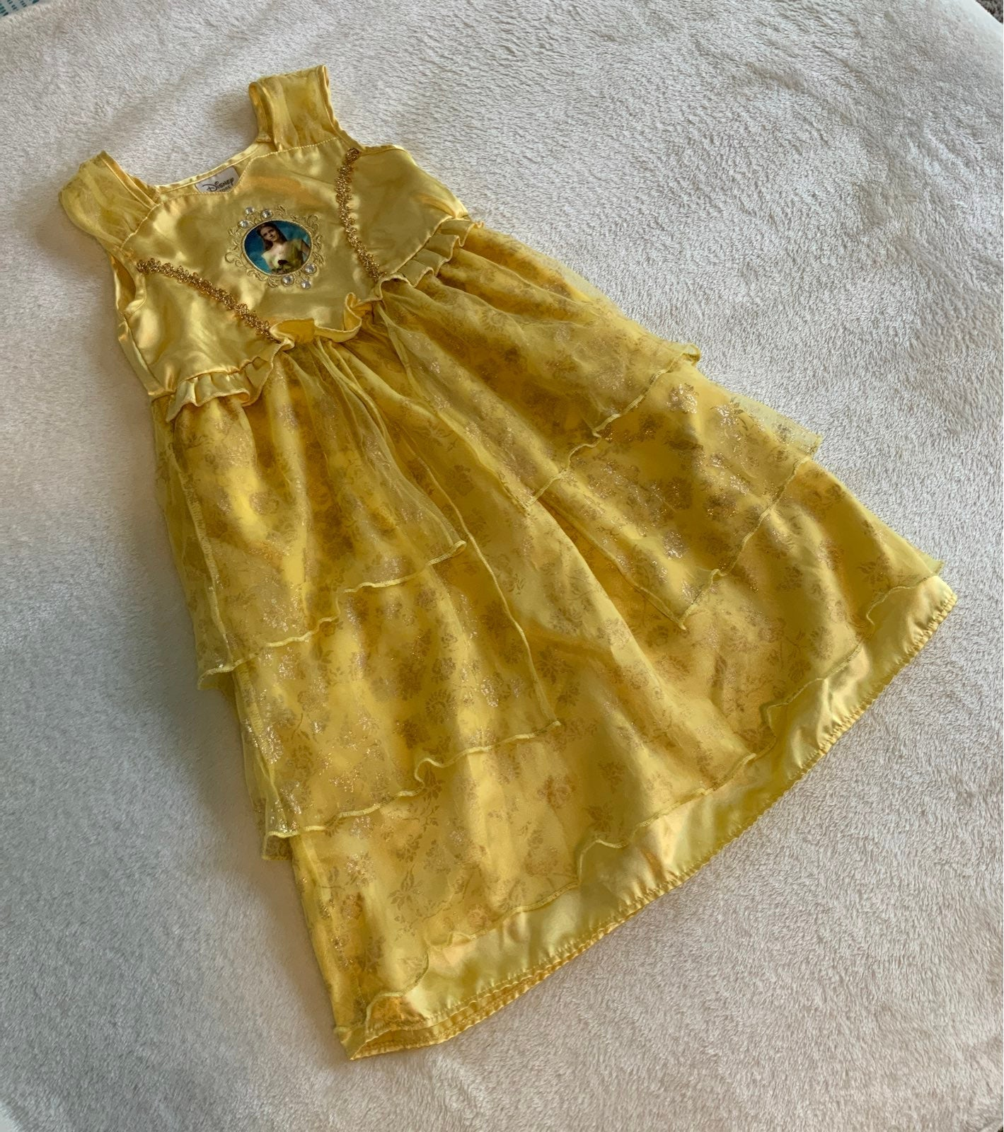 Disney Beauty And The Beast Nightgown 3T