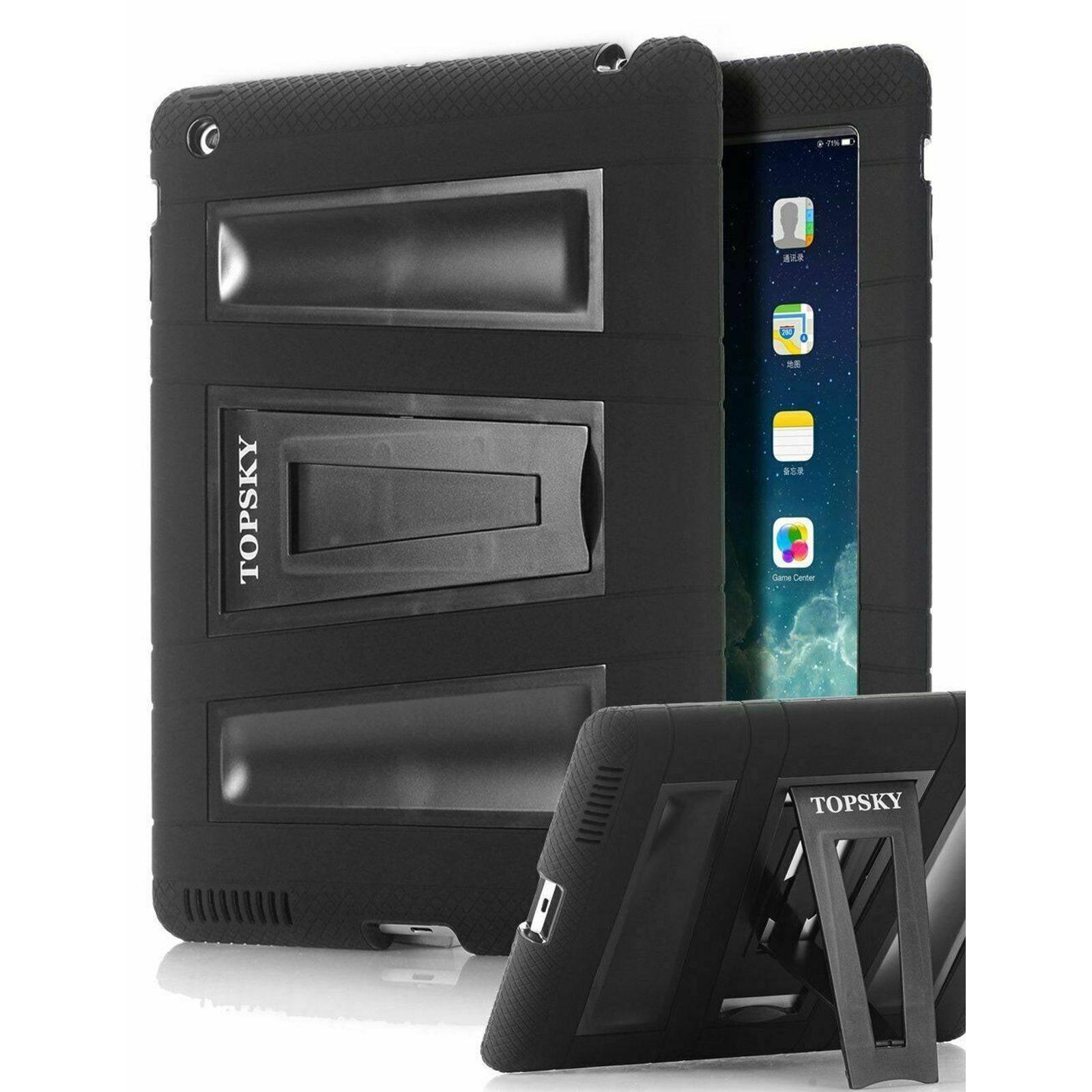 iPad 2 3 4 Case Shock-Absorption