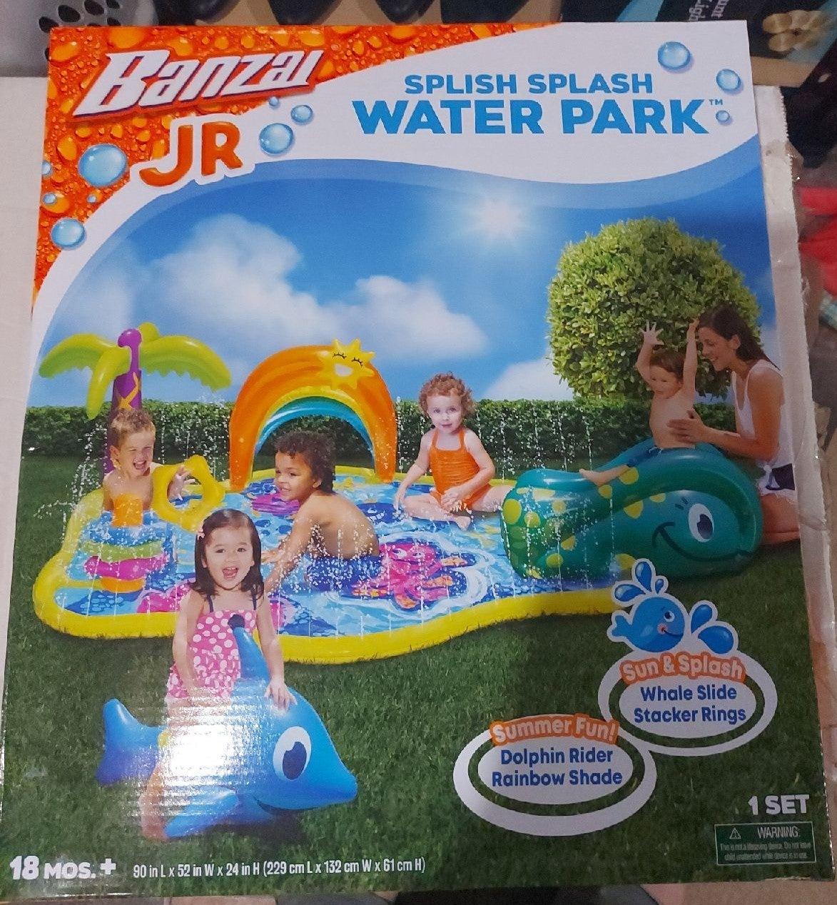 Splish Splash Ocean Backyard Water Park