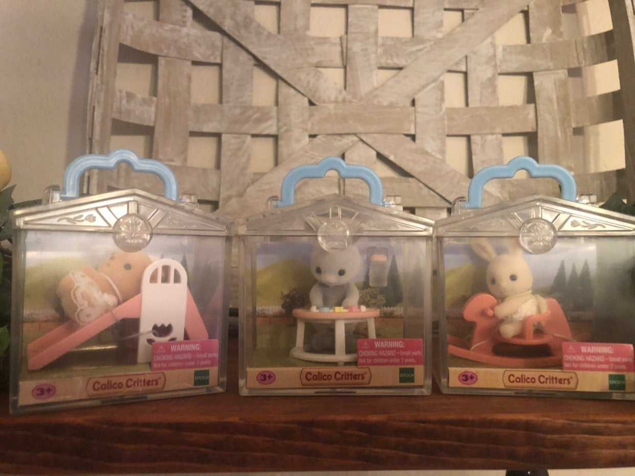 Calico Critters -Lot of 3
