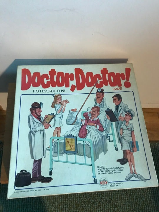 Doctor, Doctor! diagnosis board game